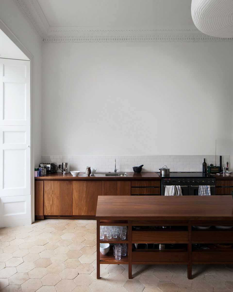 High Ceiling Kitchen. Norfolk House By Carmody Groarke