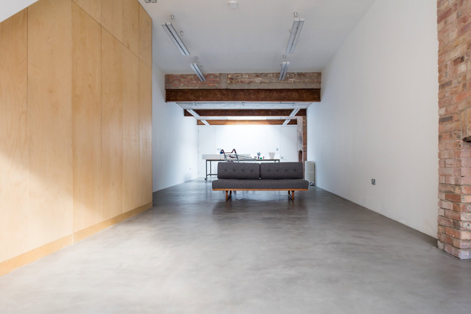 Studio Minimal minimal studio space. home of michael landy | up interiors