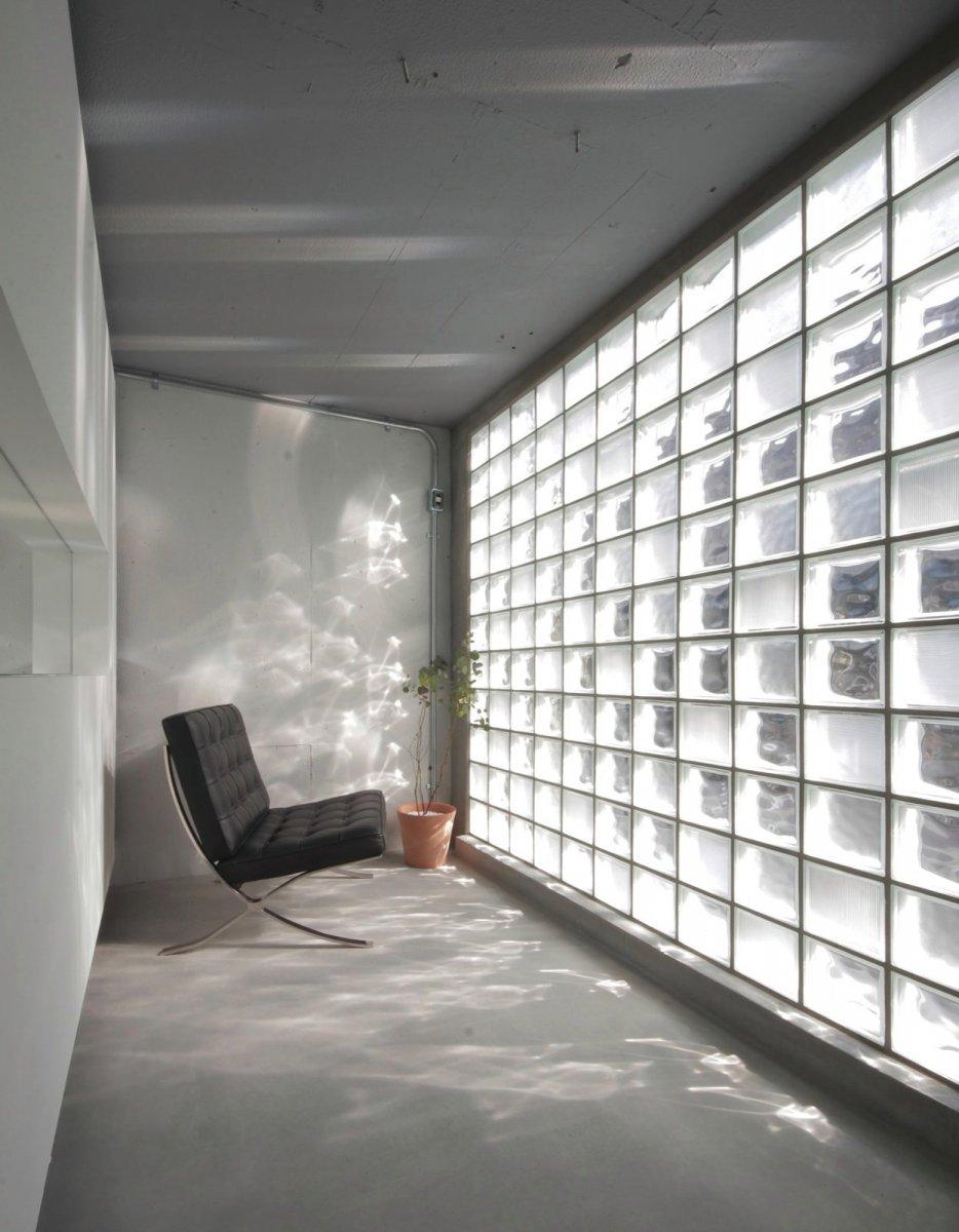 glass block wall  glass art gallery by jam