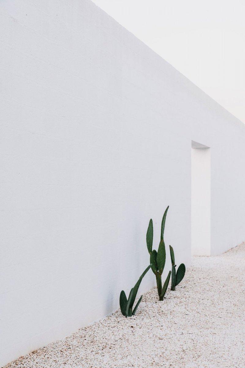 White stone block wall. Masseria Moroseta by Andrew Trotter