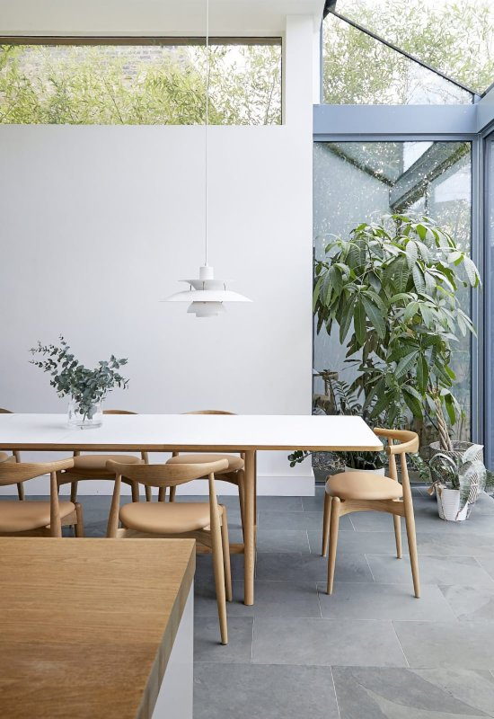 Sun-filled dining area. Cooper, London, N4
