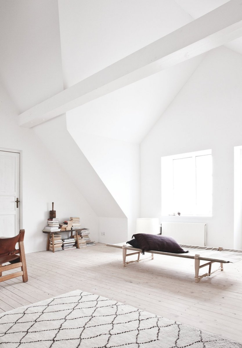 Attic with dormer. Vedbaek House III by Norm.Architects