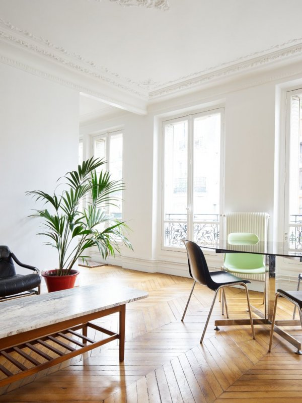 Parisian living space. Chemin Vert by Septembre