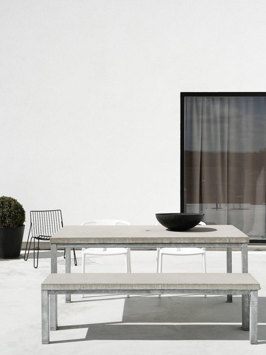 Endo Room Design: Concrete Patio. Annaleena's Private Home