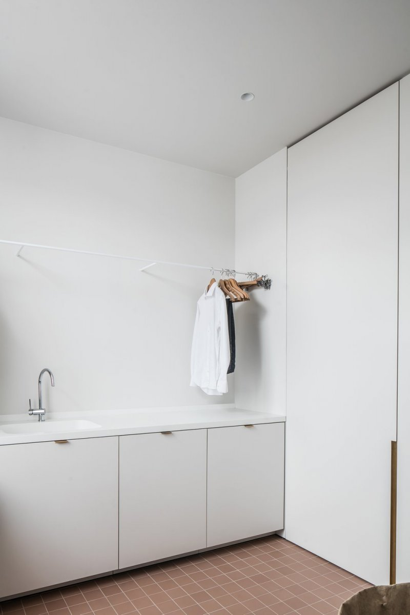Laundry room. Appartement 13.10 by Atelier 10.8