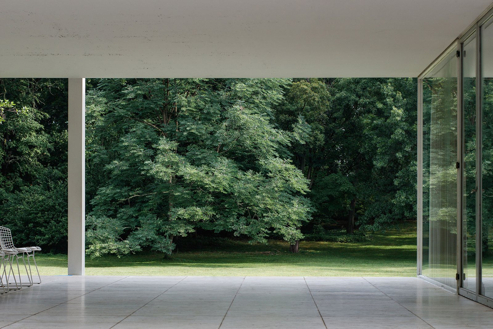Farnsworth House Rooms