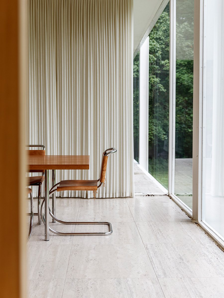 Commercial Van Interiors >> Farnsworth House by Ludwig Mies van der Rohe | UP interiors