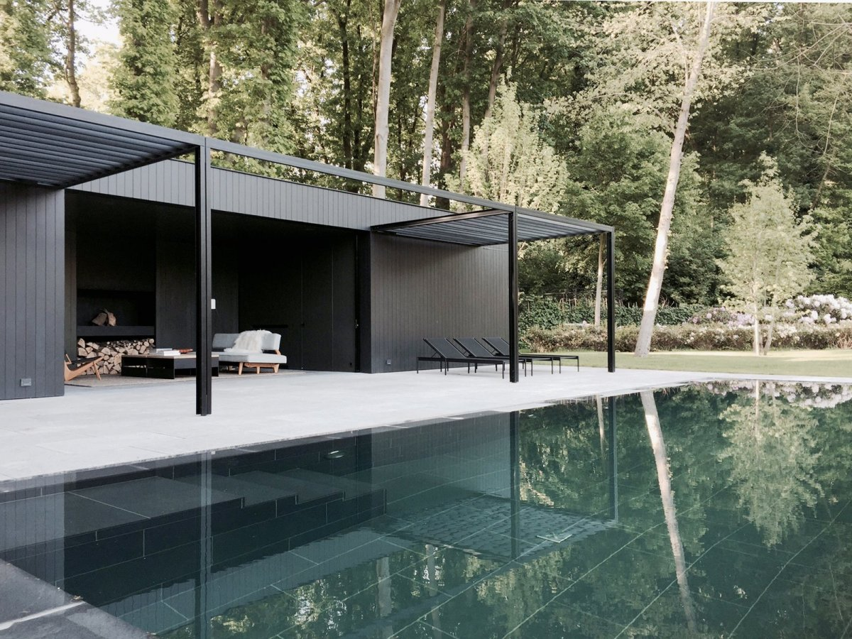 Cd Poolhouse By Marc Merckx Interiors Up Interiors